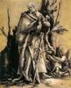 Matthias Grünewald: Szent János az erdőben