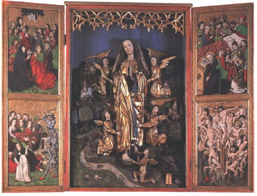 Berki Mária Magdolna mennybevitele oltár