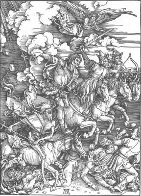 Albrecht Dürer: Apokalipszis egyik lapja: Az Apokalipszis négy lovasa