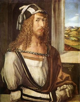 Albrecht Dürer: 1498-as önarckép