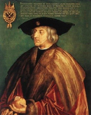 Albrecht Dürer: Miksa császár portréja