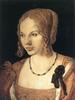 Albrecht Dürer: Fiatal velencei nő képmása