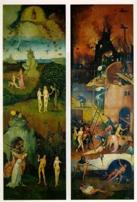 Hieronymus Bosch: A szénásszekér-triptichon
