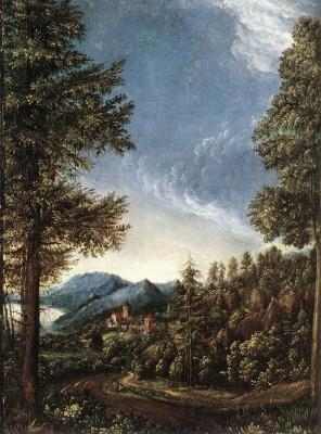 Albrecht Altdorfer: Dunai táj