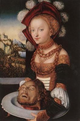 id. Lucas Cranach: Salome