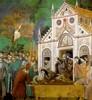 Giotto di Bondone: A Klarisszák siratják Szent Ferencet