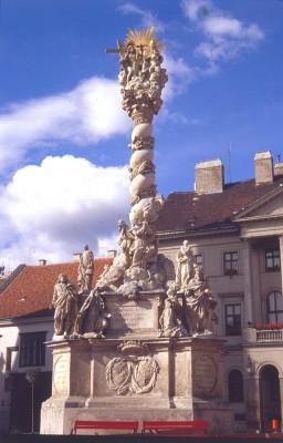 Sopron, Szentháromság-emlékmű, 1695-1701.