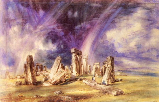 Constable, John: Stonehenge. 1836. Victoria and Albert Museum, London.