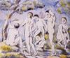 Cézanne, Paul: Nagy fürdőzők. 1896-1897. Szépművészeti Múzeum, Budapest.