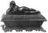 Schossel, András: Gyufástartó doboz. 1854. Iparművészeti Múzeum, Budapest, Ltsz. 57.389. öntöttvas