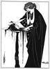 Beardsley, Aubrey: Illusztáció Oscar Wilde Salome című művéhez. 1894.. Harvard University, Massachussets.