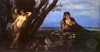 Böcklin, Arnold: Tavaszi est. 1879. Szépművészeti Múzeum, Budapest.