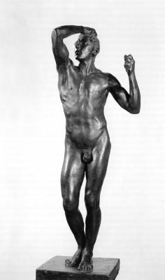 Rodin, Auguste: Az Érckor. 1876 (1900). Szépművészeti Múzeum, Budapest.