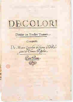 Matteo Zaccolini: De colori