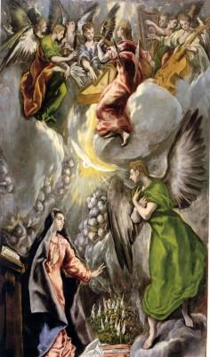El Greco: Angyali Üdvözlet