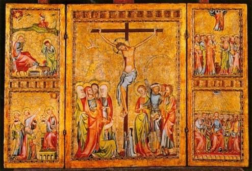 Szárnyasoltár Krisztus életének jeleneteivel