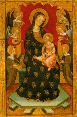 Mária-oltár középképe
