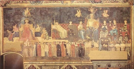 Ambrogio Lorenzetti: A Jó kormányzás allegóriája