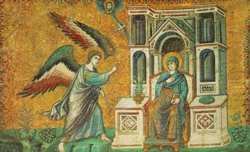 Pietro Cavallini: Angyali üdvözlet