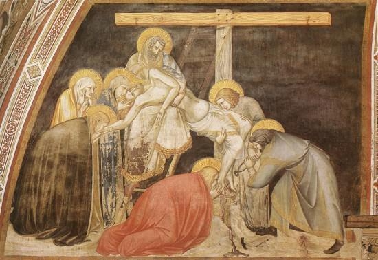 Pietro Lorenzetti: Levétel a keresztről