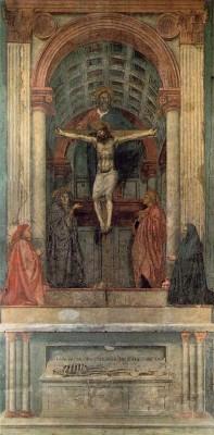 Masaccio: Trinitá (Szentháromság)