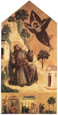 Giotto: Assisi Szent Ferenc stigmatizációja