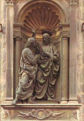 Andrea del Verrocchio: Krisztus és Tamás
