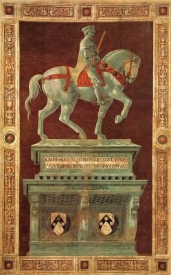 "Paolo Uccello: Sir John Hawkwood (""Giovanni Acuto"")"