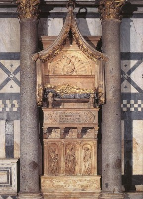 XXIII. János ellenpápa síremléke