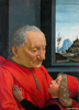 Domenico Ghirlandaio: Nagyapa unokájával