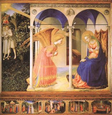 Fra Angelico: Angyali üdvözlet