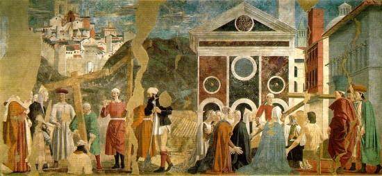 Piero della Francesca: A kereszt megtalálása