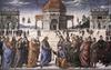 Pietro Perugino: A kulcsok átadása