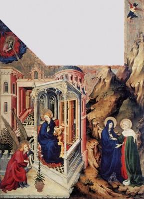 Melchior Broederlam: Angyali üdvözlet és Vizitáció