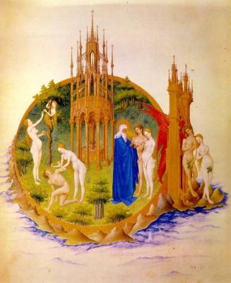 Paradicsomkert, Tres Riches Heures de Duc de Berry