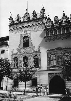 Thurzó ház, homlokzat