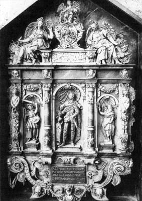 Pálffy Miklós síremlékének modellje