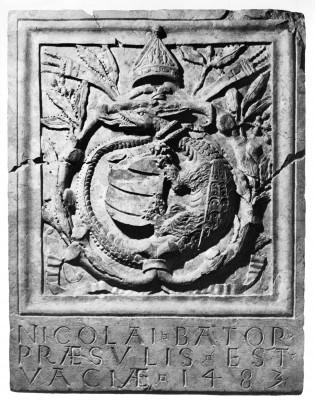 Báthory Miklós püspök címere
