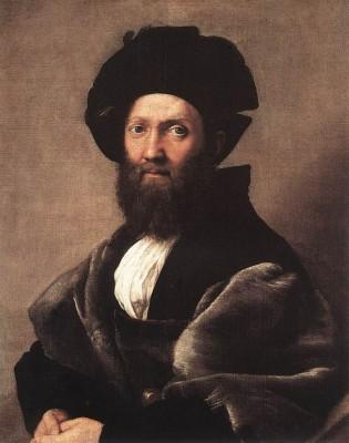 Raffaello: Baldassare Castiglione portréja