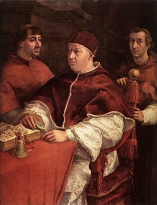 X. Leó pápa, Giuliano de'Medici és Luigi de'Rossi kardinálisok