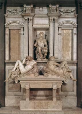 Michelangelo: Giuliano de'Medici síremléke