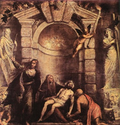 Tiziano: Pietá