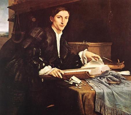 Lorenzo Lotto: Ifjú arcképe