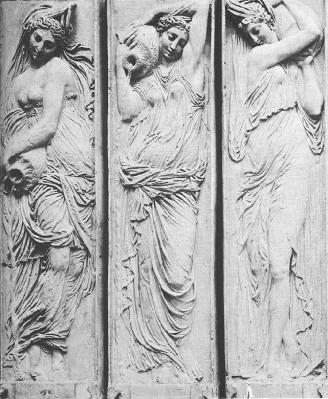 Jean Goujon: a Fontaine des Innocents nimfái