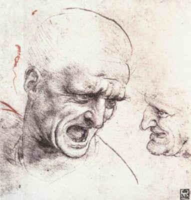 Leonardo da Vinci: Tanulmányrajz az Anghiari csatához