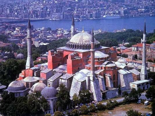 Hagia Sophia fényképe