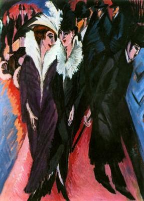 Ernst Ludwig Kirchner: Az utca