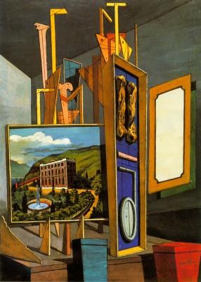 Giorgio de Chirico: Nagy metafizikus enteriőr