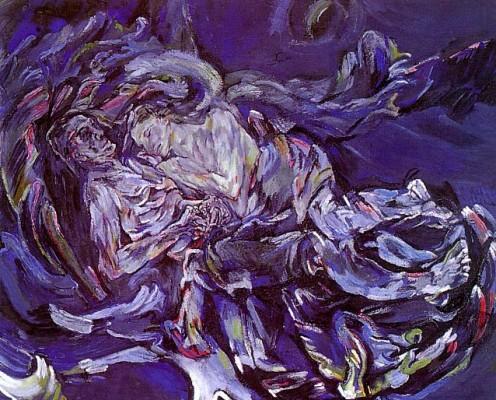 Oskar Kokoschka: A szél menyasszonya