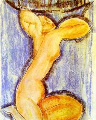 Amadeo Modigliani festménye